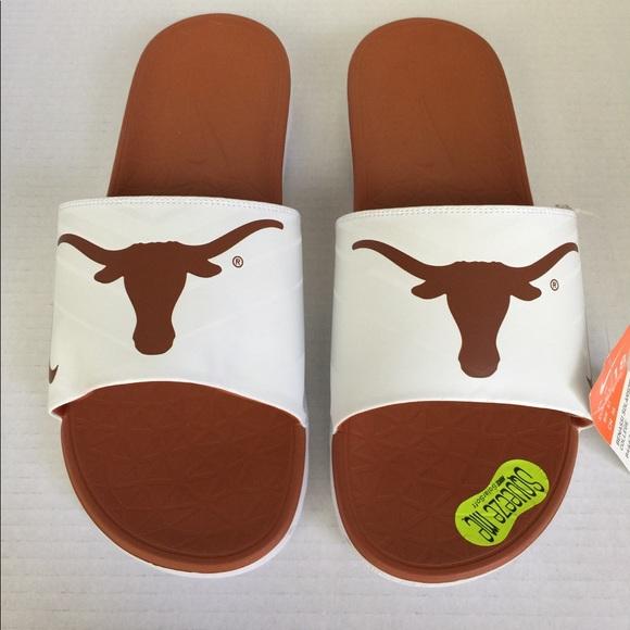 9b18c5564308 Nike Benassi Solarsoft Slides White Orange UT